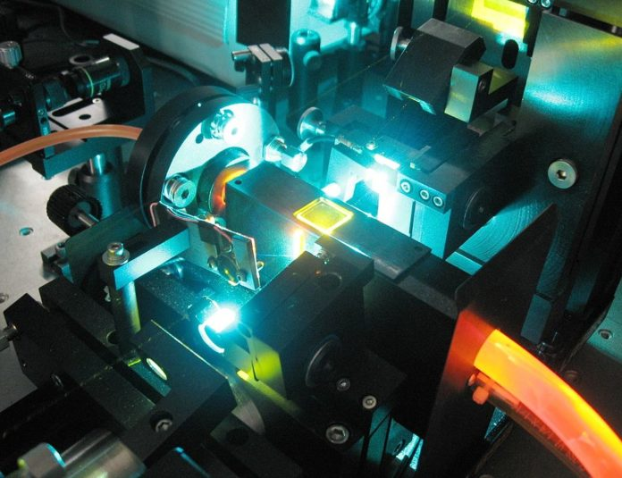 laser macchina