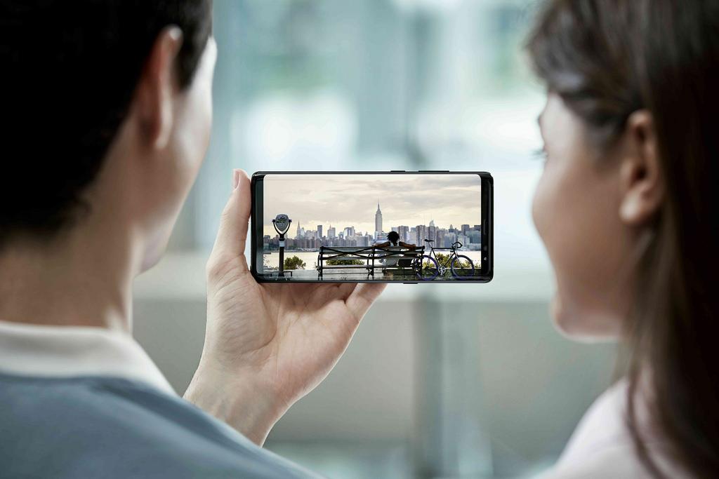 Samsung Galaxy S9 infinity display